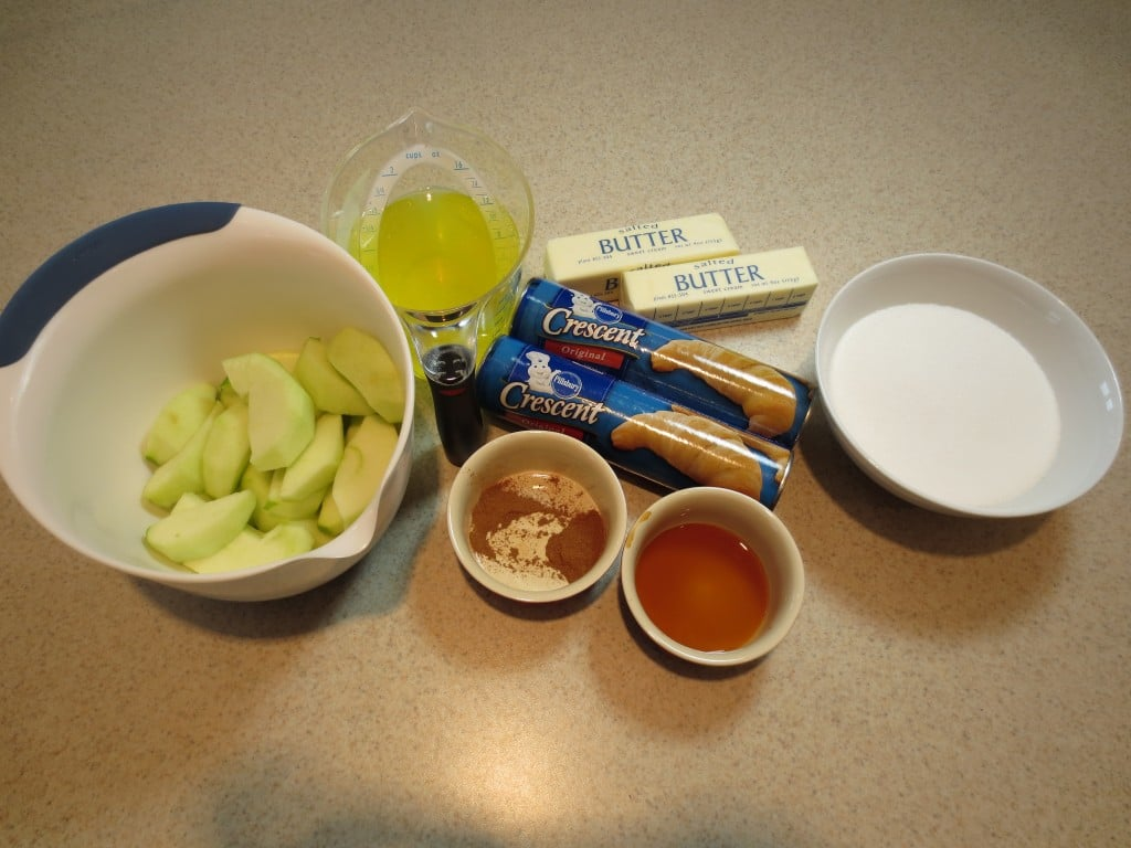 Apple Dumplings Ingredients