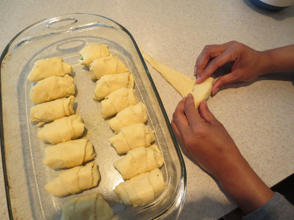 Roll the Apple Dumplings