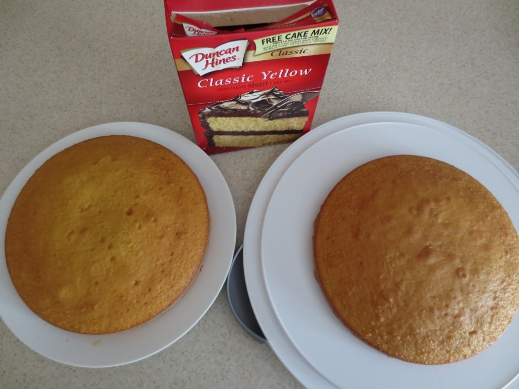 Baked Cakes for Boston Cream Cake