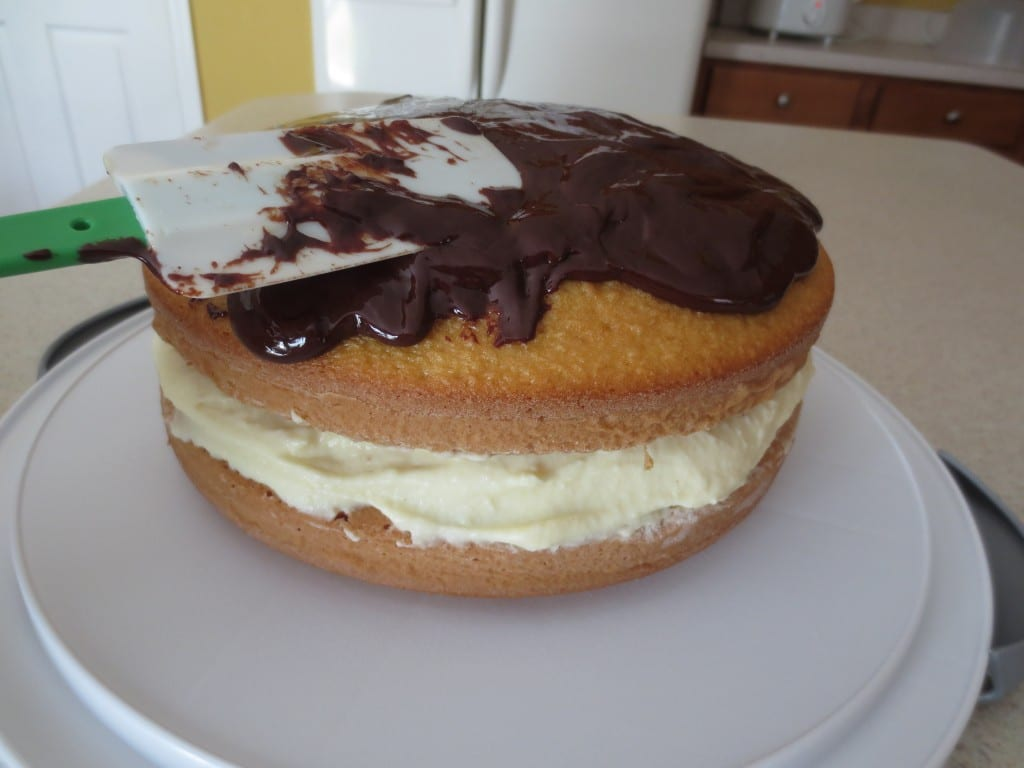 Boston Cream Cake Frosting