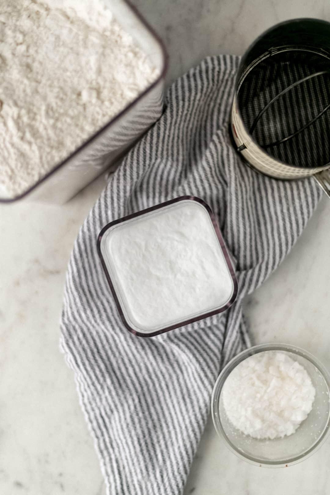 ingredients to make self-rising flour recipe