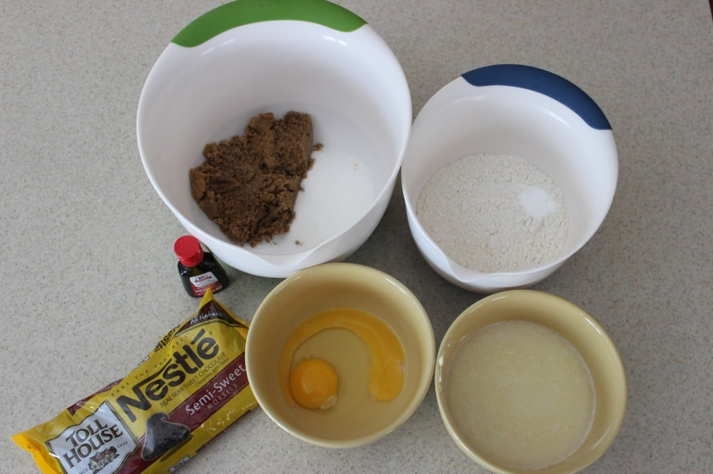 Chocolate Chip Cookie Skillet Ingredients