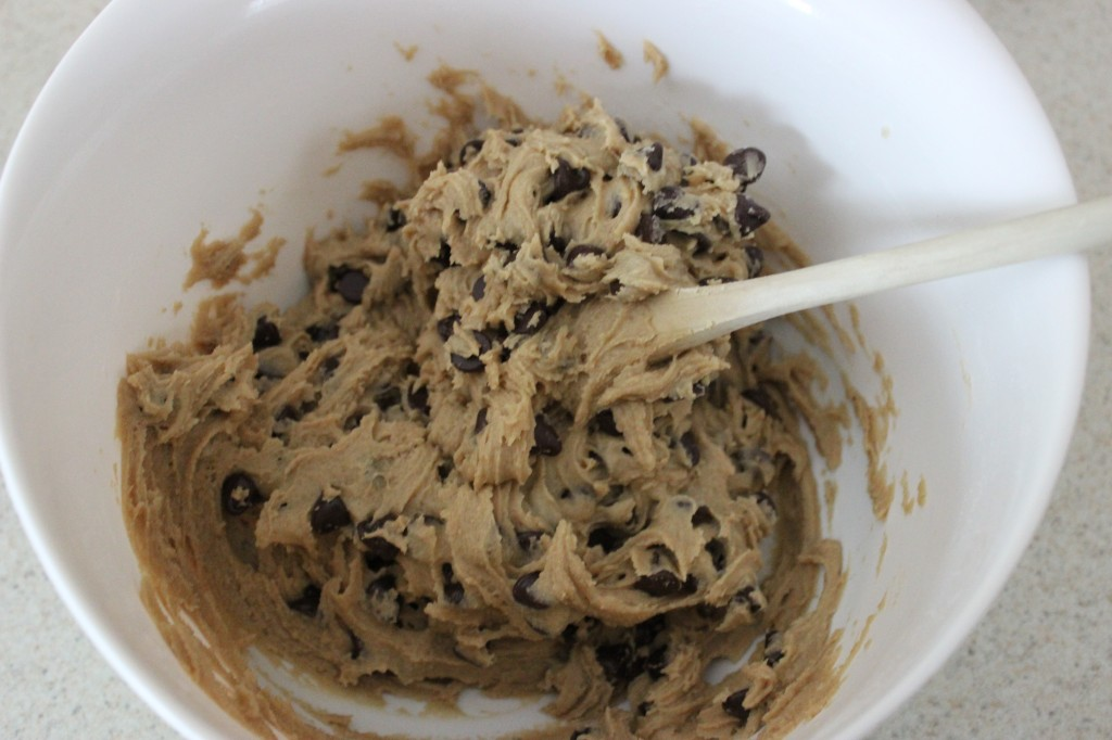 Chocolate Chip Cookie Skillet Dough