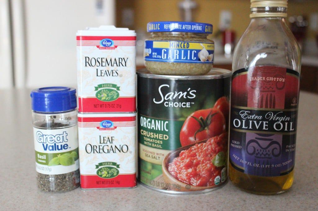 Homemade Pasta Sauce Ingredients