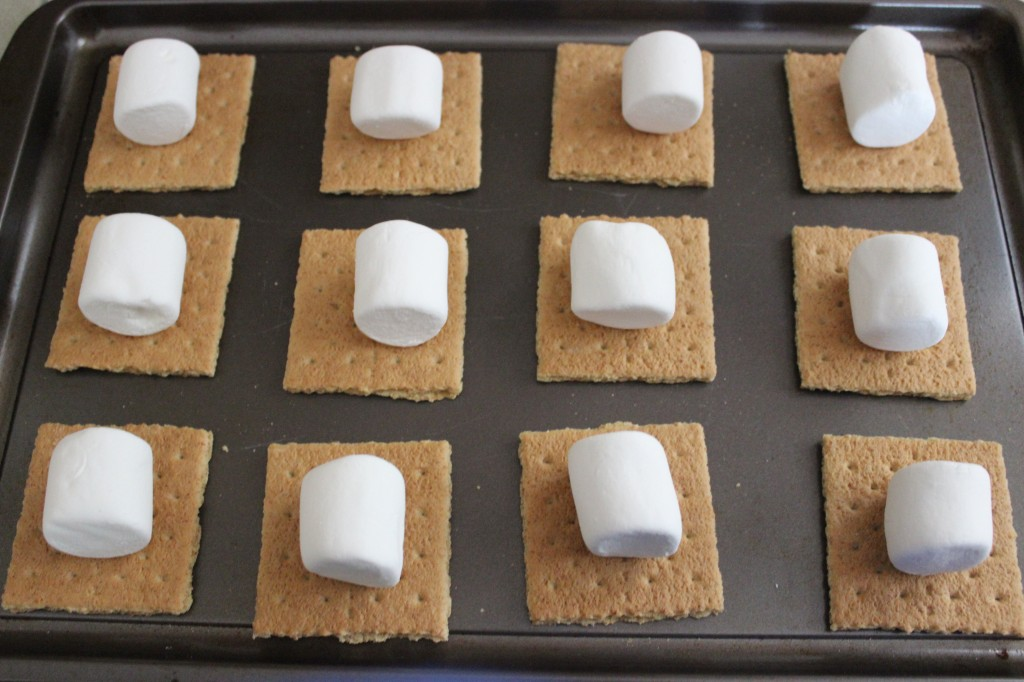 Easy Oven Baked S'mores