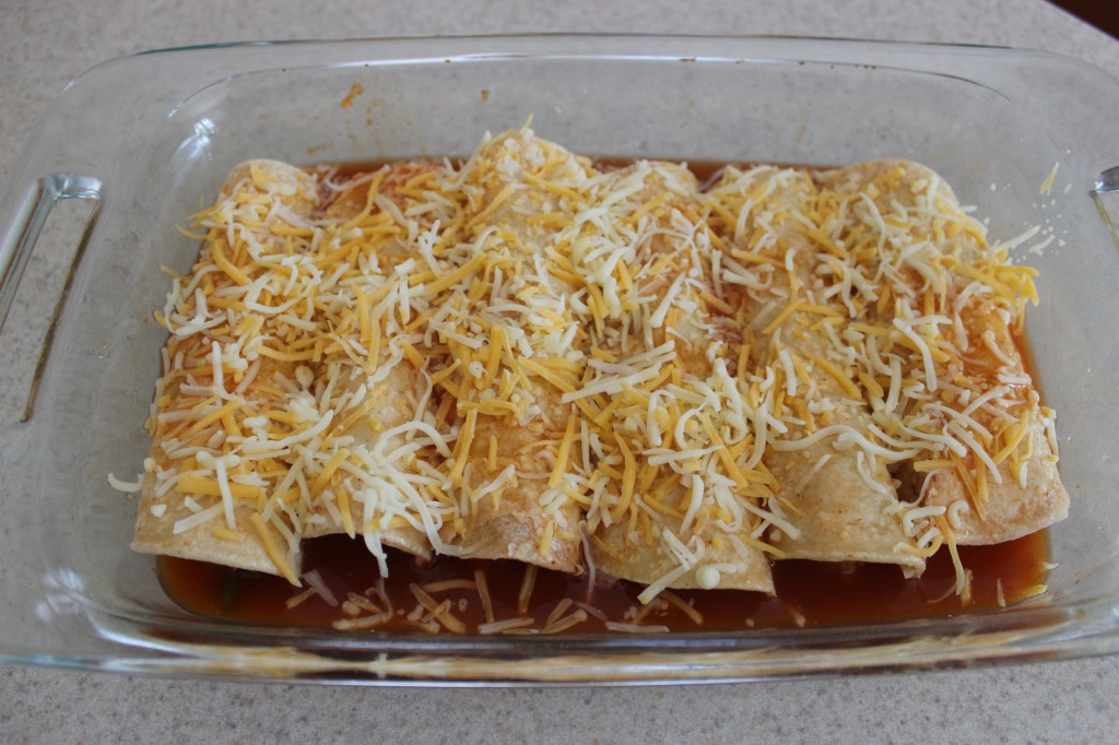 Chorizo and Sweet Potato Enchiladas are a tasty recipe that combines chorizo with sweet potato and the flavors of enchiladas for a flavorful meal. simplylakita.com