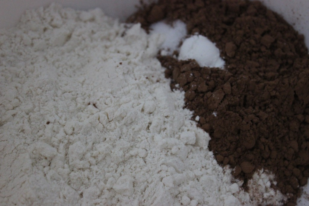 cocoa brownies dry ingredients