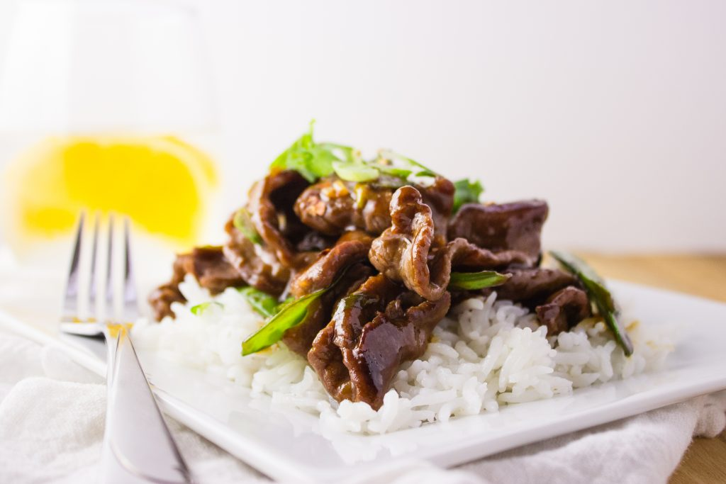 This quick and easy Beef and Snow Peas stir fry recipe is so delicious and makes the perfect meal when served over cooked rice. simplylakita.com #easymeal