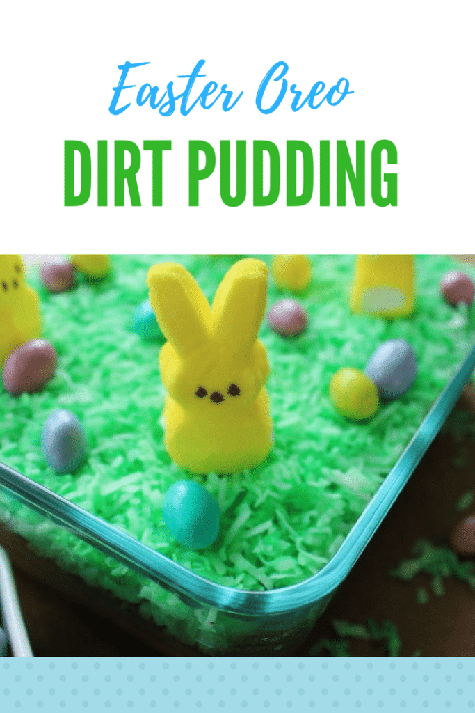 Oreo Dirt Pudding | Easter with Peeps