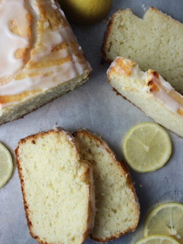 Glazed Lemon Loaf Bread is a sweet, creamy, and delicious recipe that is easy to make and the perfect sweet treat to enjoy anytime. simplylakita.com #lemon #bread