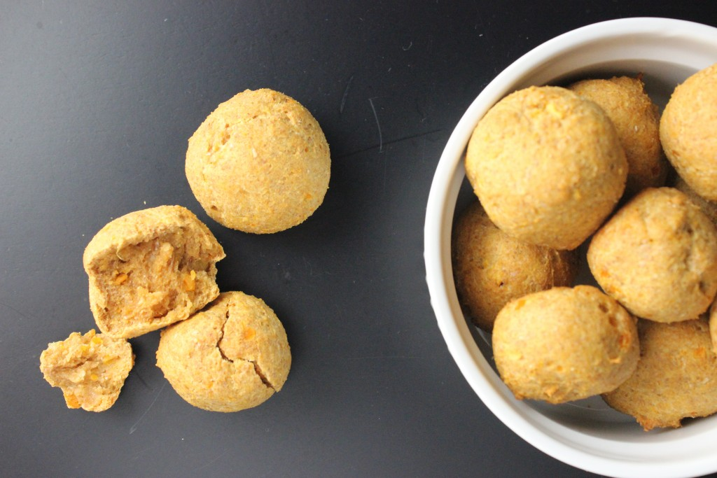 Sweet Potato Dog Treats are quick and easy to make and the perfect treat to give your furry friend on a special day. They will definitely enjoy! simplylakita.com #dog #treats