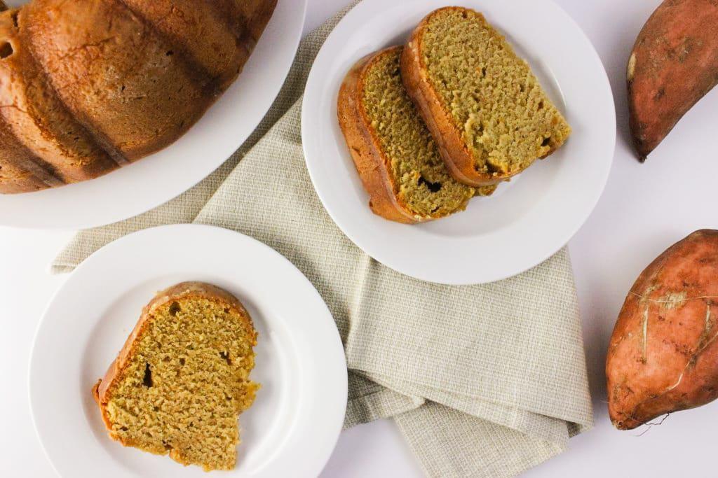 Sweet Potato Pound Cake by Simply LaKita