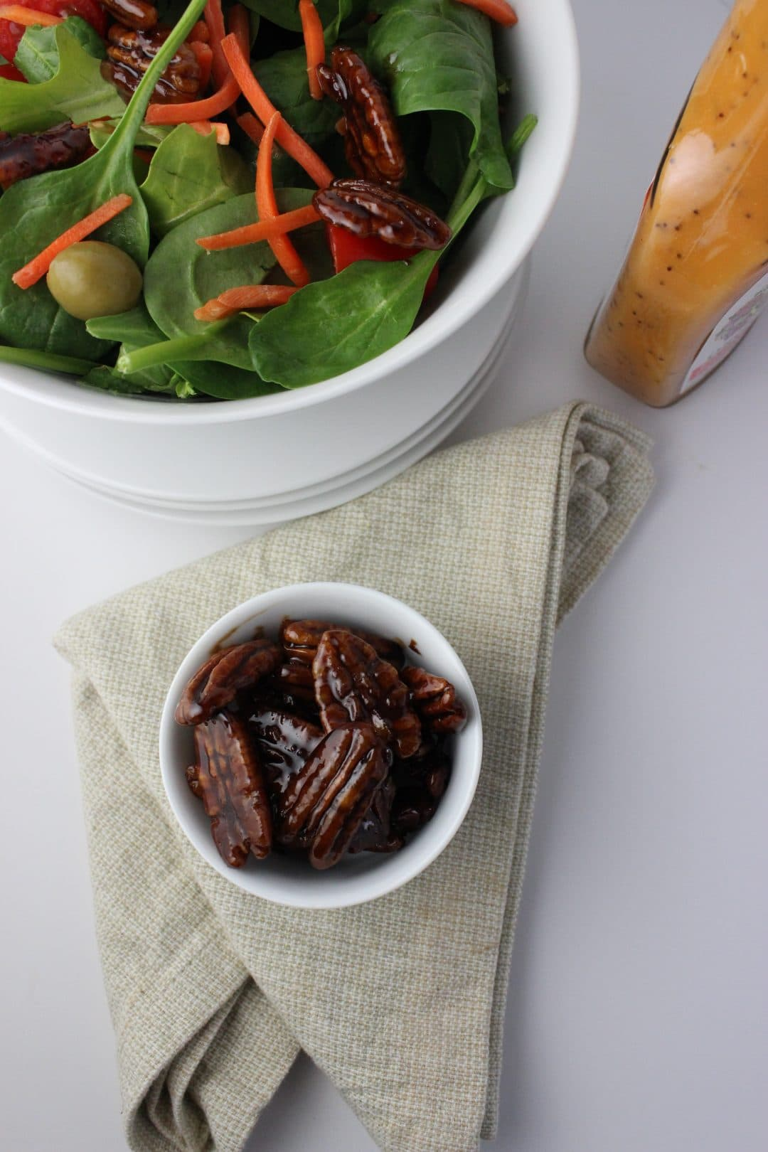Coconut Sugar Candied Pecans