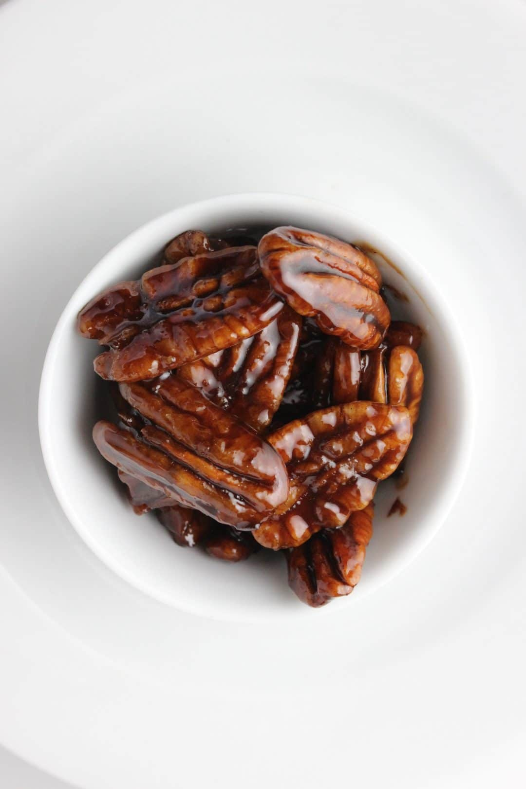 Easy Coconut Sugar Candied Pecans