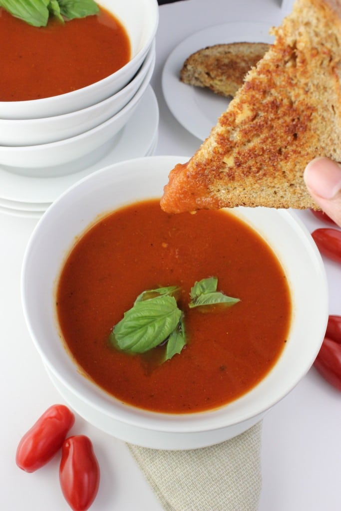 easy homemade tomato soup