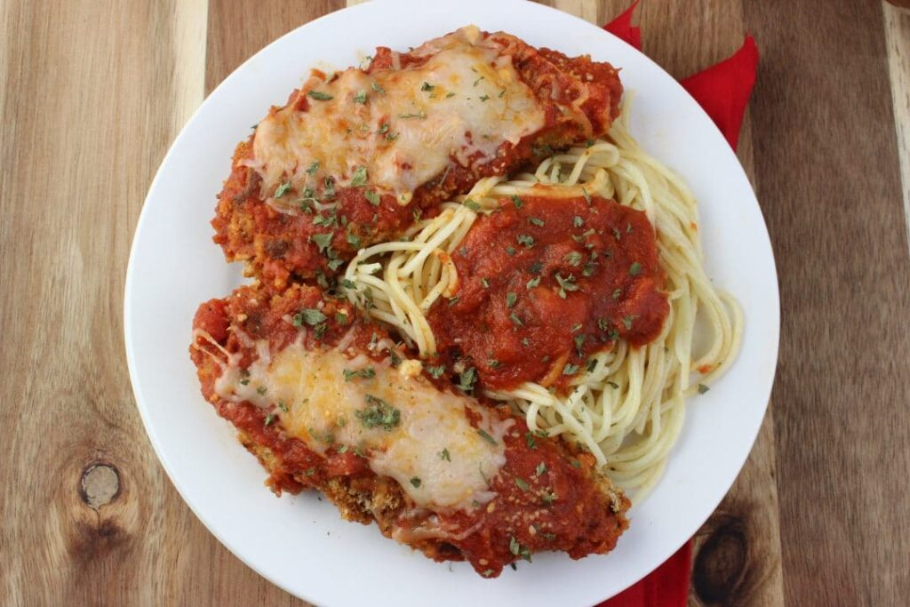 Baked Chicken Mozzarella
