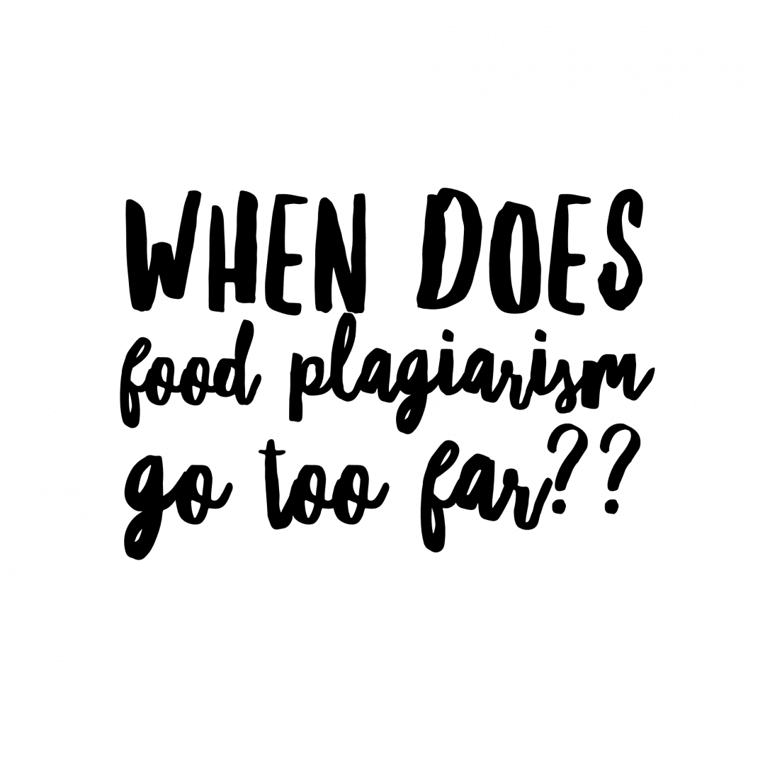 Food Plagiarism - A recent conversation with a fellow blogger sparked the conversation of exactly how far is too far when it comes to blogging. simplylakita.com #food