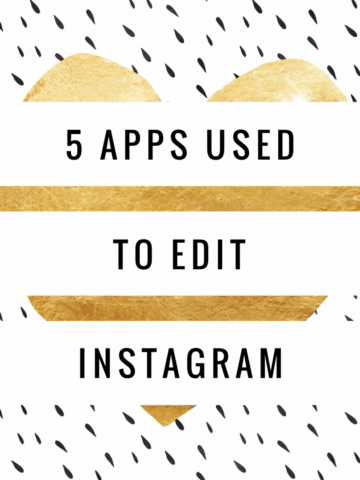 Today I will share with you my favorite Instagram Editing Apps and how I use them to make my Instagram feed stand out and tell my brand story. simplylakita.com #instagram #apps