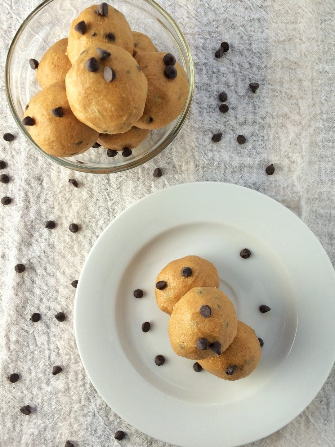 cookie dough balls