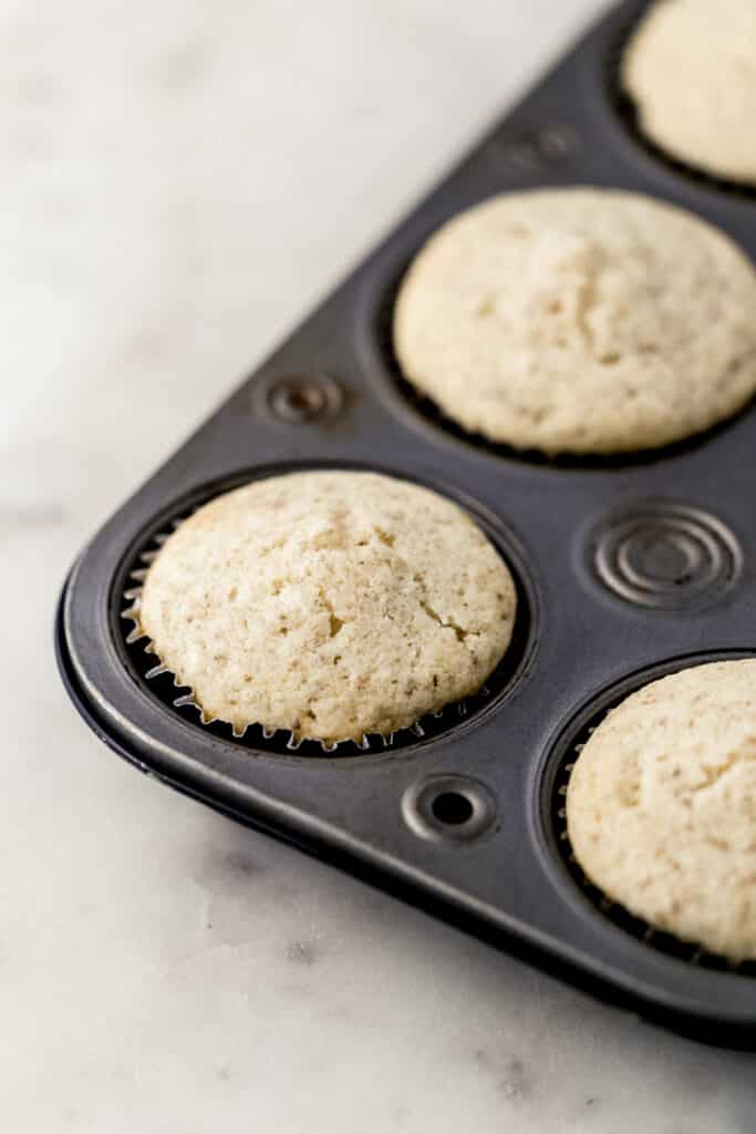 baked cupcakes in muffin pan