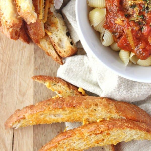 Easy Dinner Breadsticks