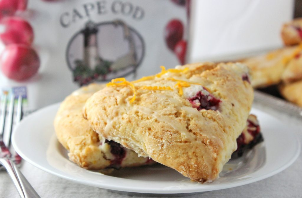 Cranberry Orange Scones by Simply LaKita