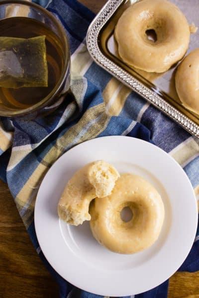 Vegan Vanilla Donuts