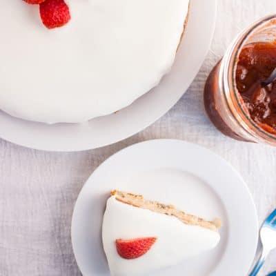 Strawberry Preserves Cake