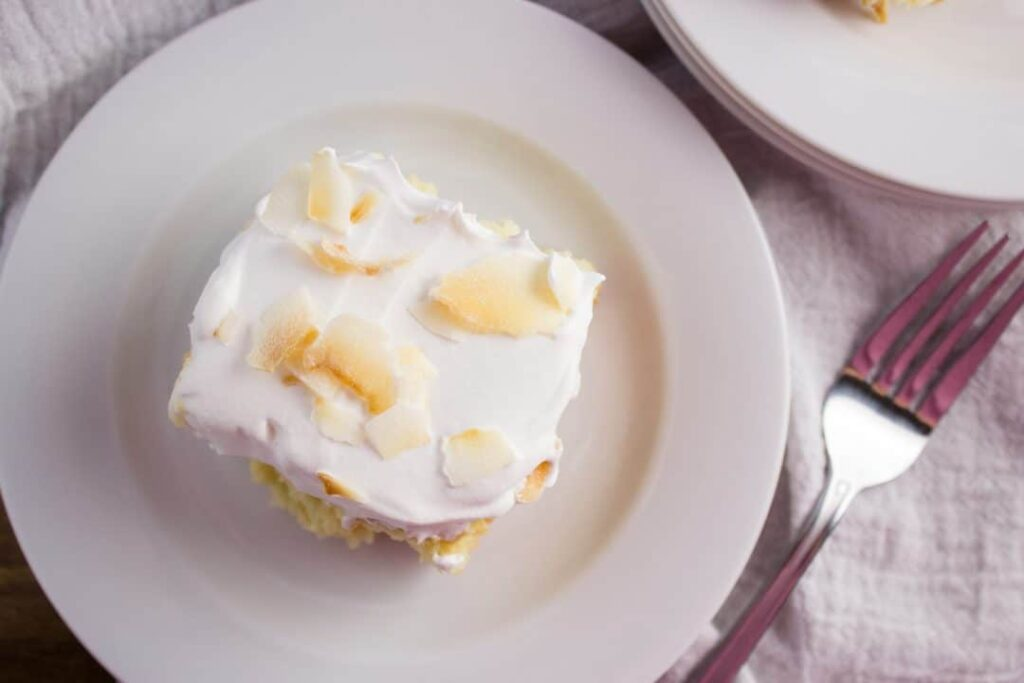 Easy Tres Leches Cake Using Cake Mix