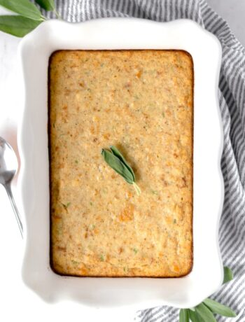 Easy Cornbread Dressing is the perfect addition to the Holiday table. It is simple to make with cornbread, sage, butter, onions, and celery. simplylakita.com #Thanksgiving #friendsgiving #dressing #easydressingrecipe #cornbreaddressing
